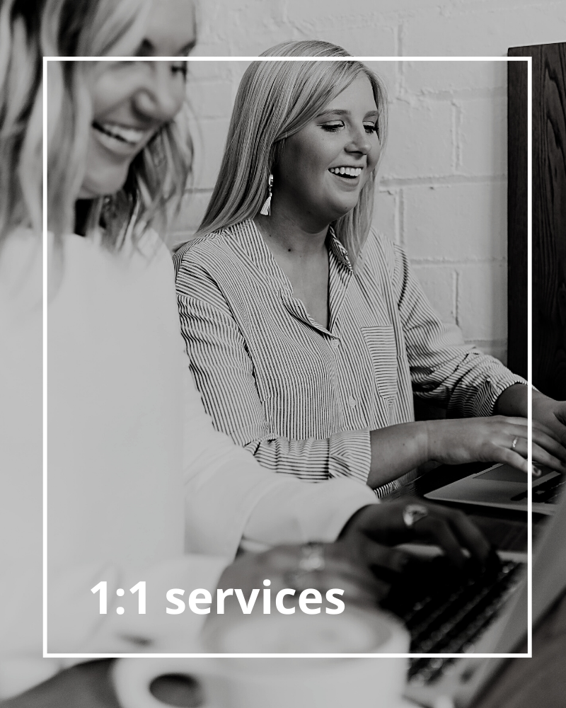 1:1 services